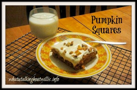 pumpkin squares image