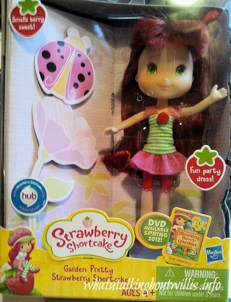 strawberry shortcake doll image