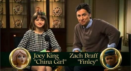 OZ Joey King Zach Braff image