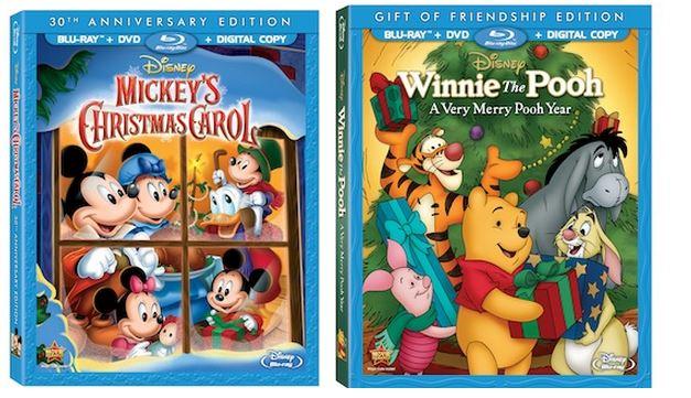 mickey and pooh blu-ray image