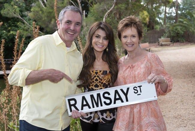 Alan Fletcher, Paula Abdul, Jackie Woodburne_Neighbours[5]