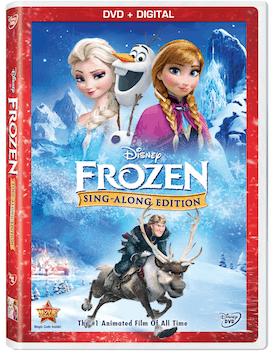 Frozen Sing Along Bluray