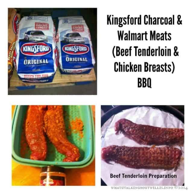 Kingsford Walmart Beef & Chicken