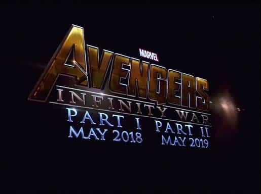 Avengers for 2018 & 2019
