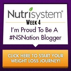 NutriSystem #NSNation Week 4