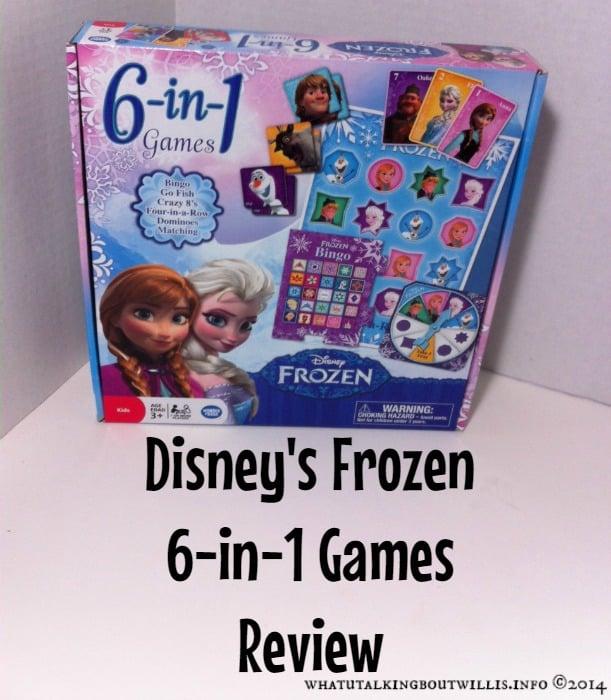 Disney's frozen 6-in-1 games