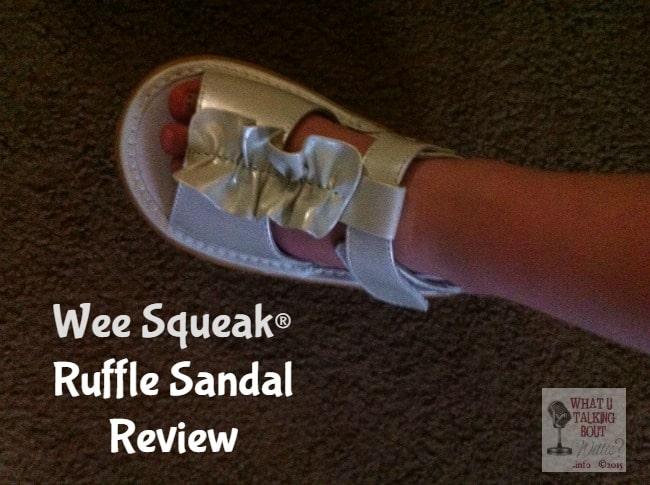 Wee Squeak Ruffle Sandal