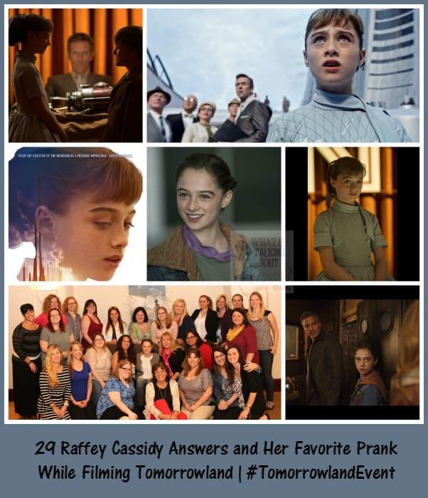 Raffey Cassidy #TomorrowlandEvent Interview
