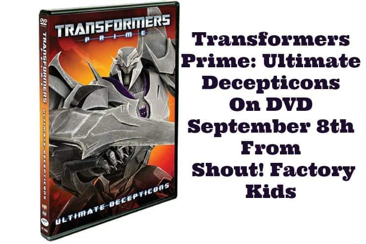 Transformers Prime Ultimate Decepticons