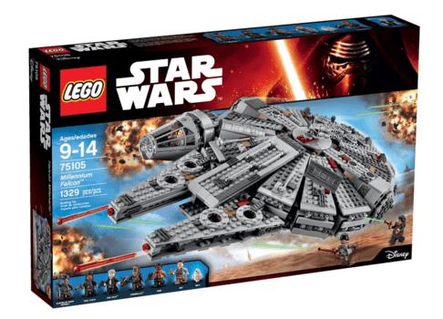 lego star wars millennium