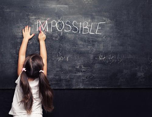 impossible chalkboard