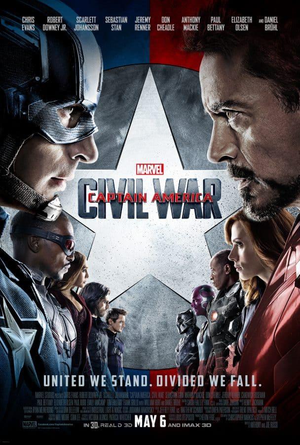 Captain America Civil War Full Size Poster Download