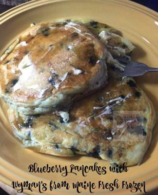 Wyman's Blueberry Pancakes