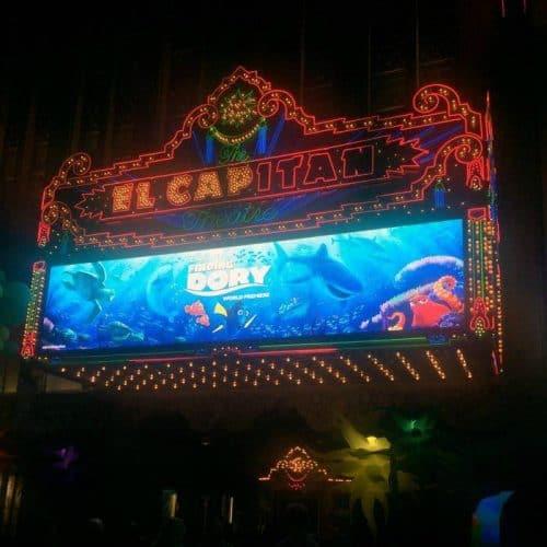 El Capitan Theatre Finding Dory Premiere LA