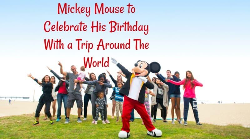 Mickey Mouse Celebrates Bday