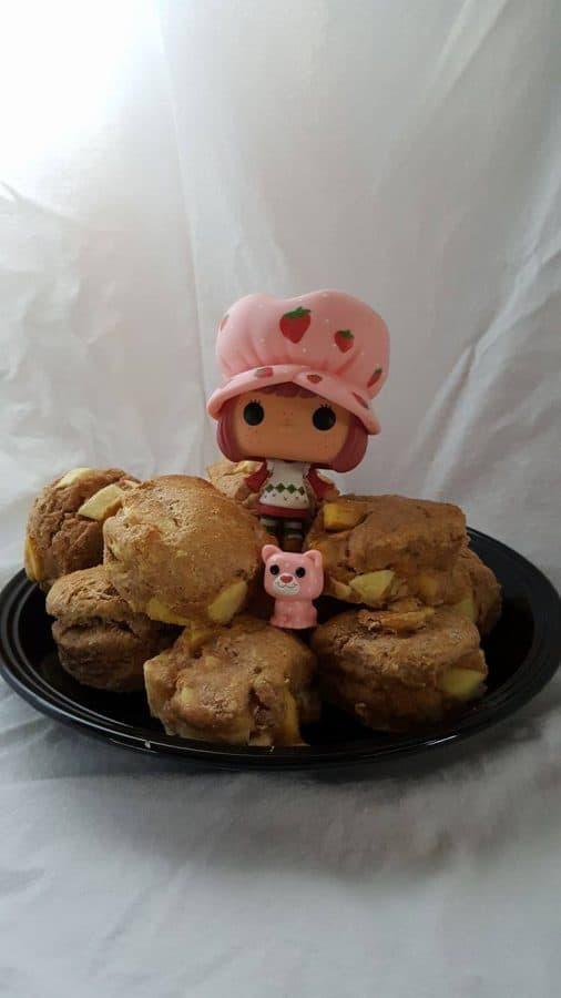Even Strawberry Shortcake Loves Apple Cider Scones Recipe
