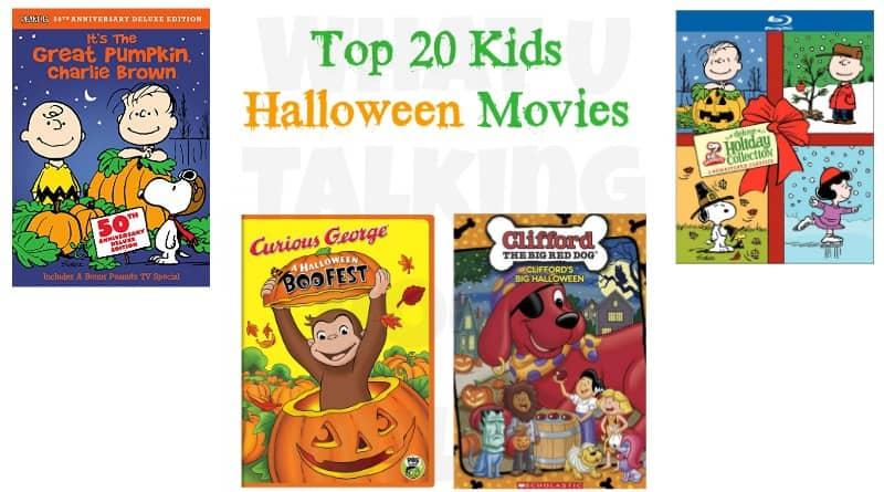 Top 20 Kids Halloween Movies