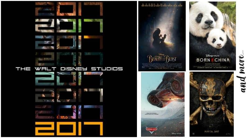 The Walt Disney Studios slate