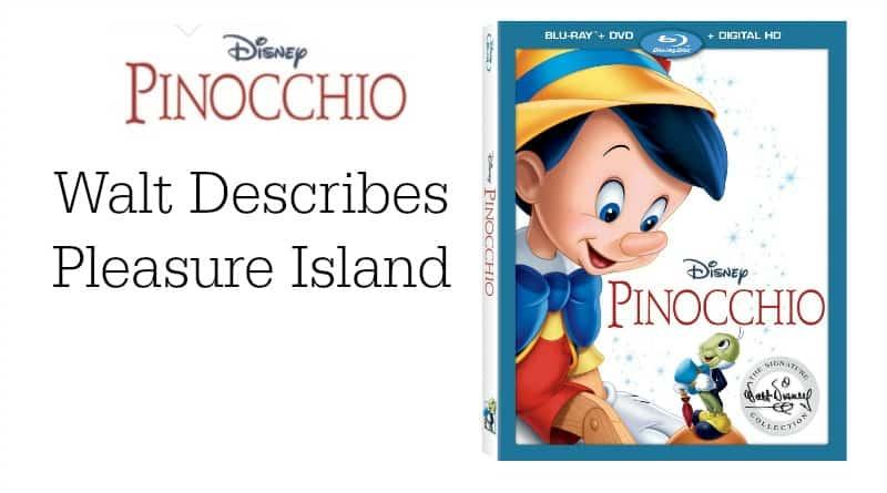 Walt Describes Pleasure Island