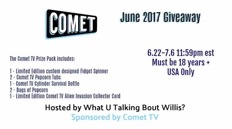 june prize comet tv