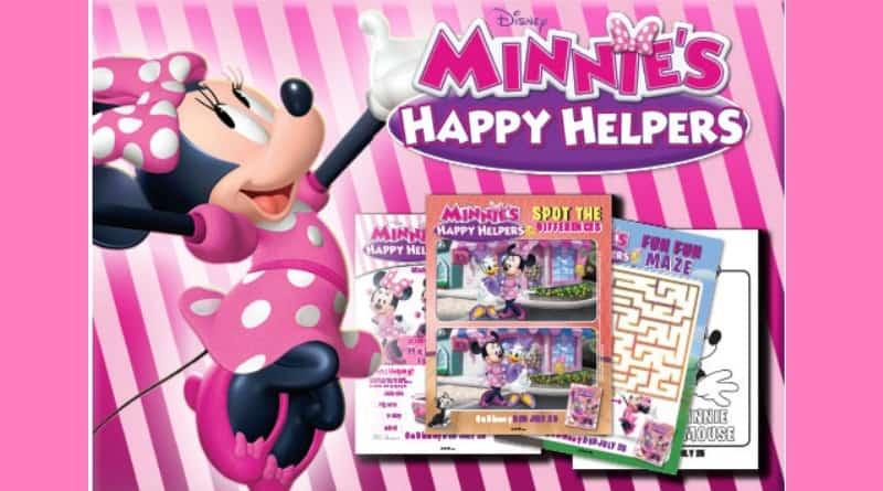 Minnie's Happy Helpers on DVD July 25th