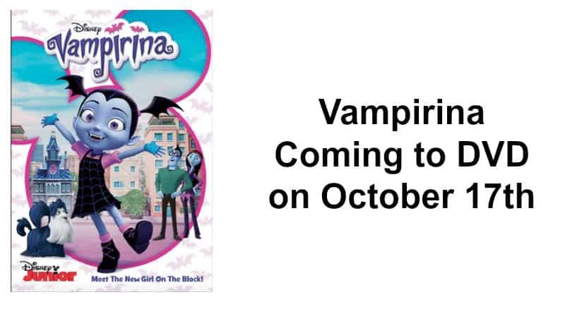 Vampirina Coming to DVD on October 17th