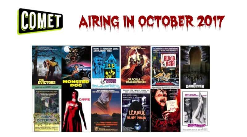 comet tv airing in october