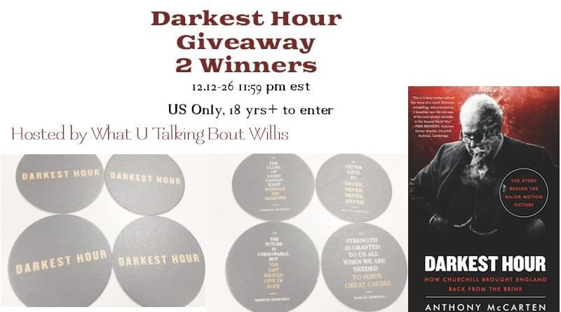 Darkest Hour Giveaway 2 Winners