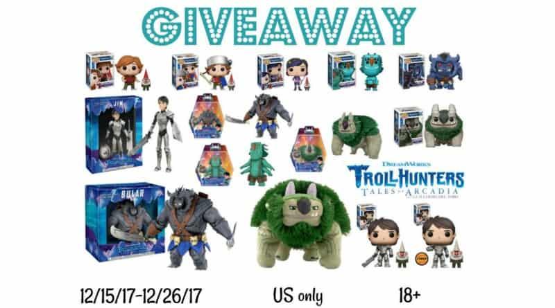 Huge Trollhunters Giveaway