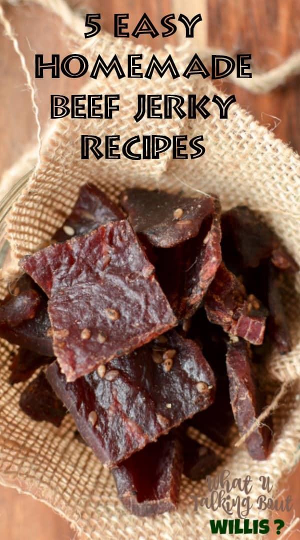 5 Easy Homemade Beef Jerky Recipes