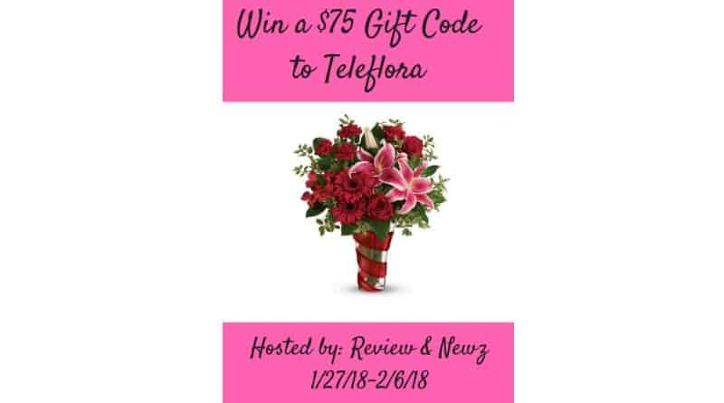 $75 gift code to Teleflora