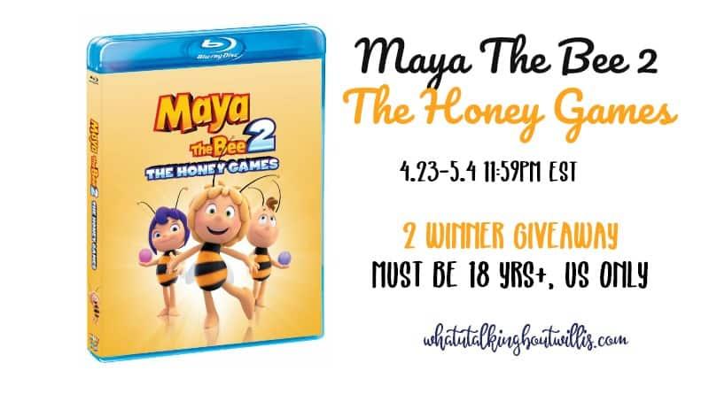 Maya the Bee 2 giveaway