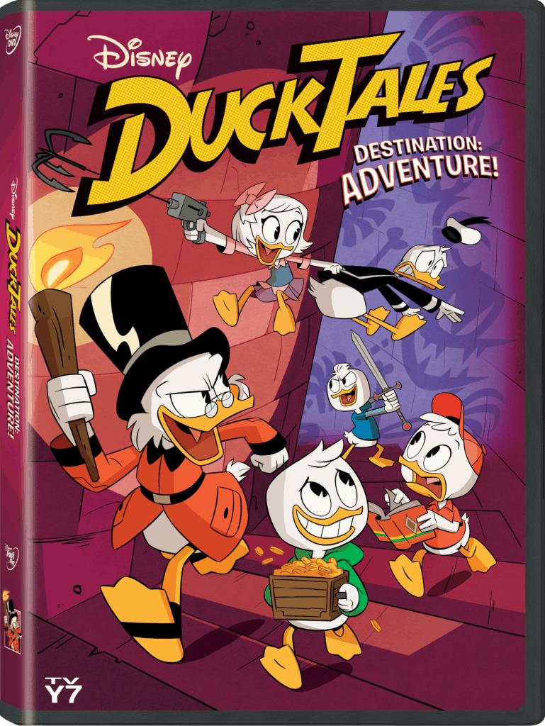 Disney's DuckTales: Destination Adventure! available on DVD June 5th