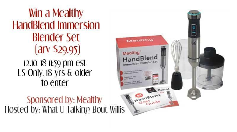 mealthy handblend giveaway